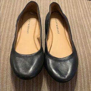 Luck brand black flats.  8.5